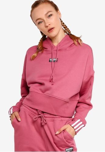 adidas Originals Crop Hoodie   Adidas cropped hoodie, Adidas
