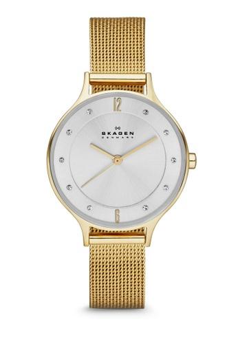Skagen gold Anita SKW2150 Watch SK419AC62VWZSG_1