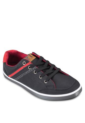 Samson 撞色拼接繫帶esprit 台北休閒鞋, 鞋, 鞋