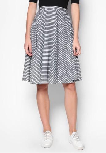 圓擺及膝zalora 內衣短裙, 服飾, 服飾