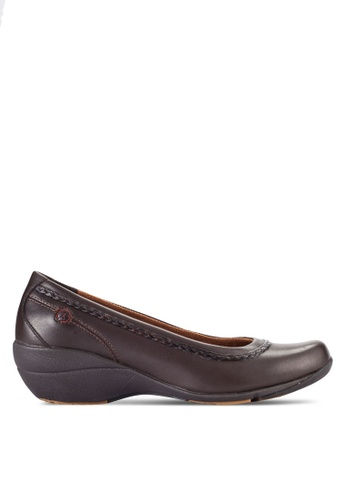 Hush Puppies brown Hush Puppies Incite-Dark Brown 69D68SHB780600GS_1