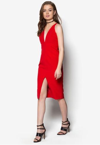 Fifi 交叉肩帶洋裝, 服飾,esprit outlet 台中 服飾