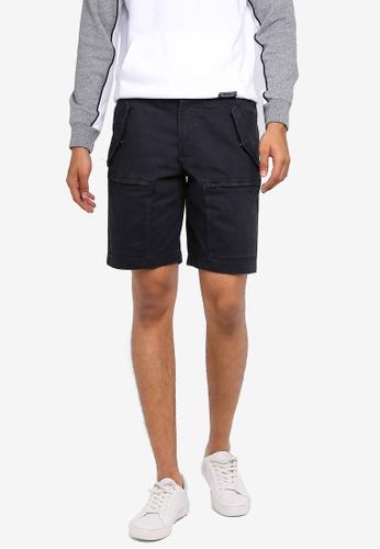 Abercrombie & Fitch 黑色 休閒短褲 BC737AACFDAABCGS_1