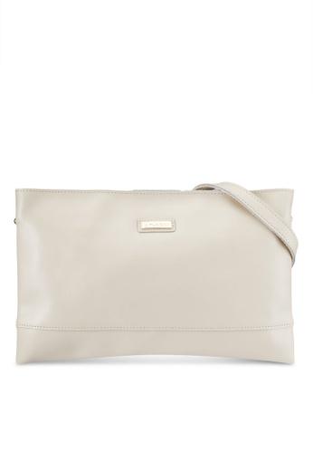 PLAYBOY BUNNY white Playboy Bunny Genuine Leather Clutch Bag/Sling Bag PL604AC0RH3SMY_1