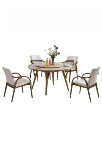 Choice Furniture brown Choice Furniture - Dominik Dining Set DC4CAHL1A76D21GS_1