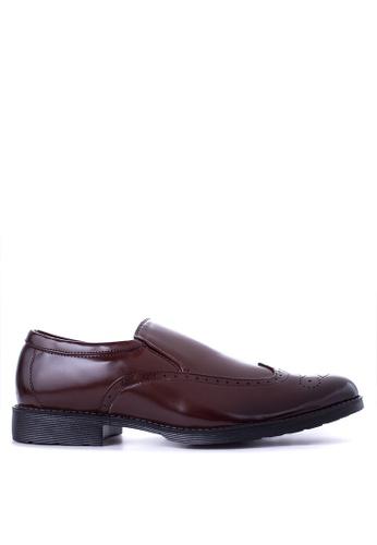 H2Ocean brown Gilbert Formal Shoes H2527SH65IJUPH_1
