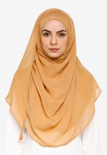 Bokitta orange Mango Instant Hijab F653AAAFAD9F85GS_1