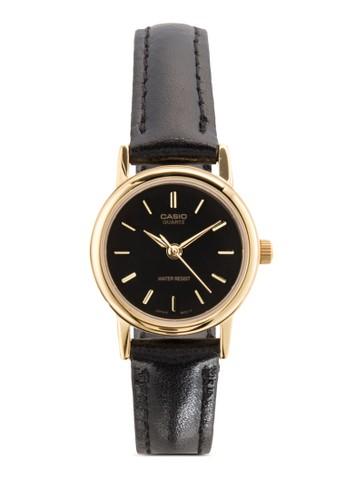 LTP-1095Q-1A 經典皮革女錶, 錶esprit outlet台北類, 飾品配件