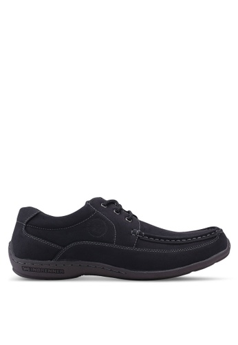Weinbrenner black Casual Boat Shoes 579DASH5E2EC83GS_1