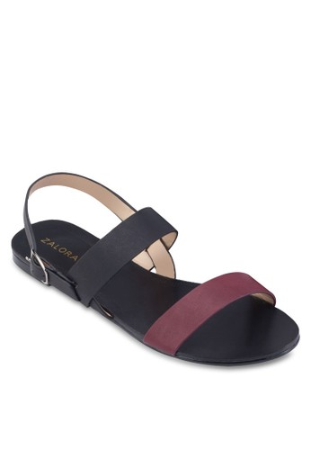 Double Strap Sling Back Sandals、 女鞋、 涼鞋ZALORADoubleStrapSlingBackSandals最新折價