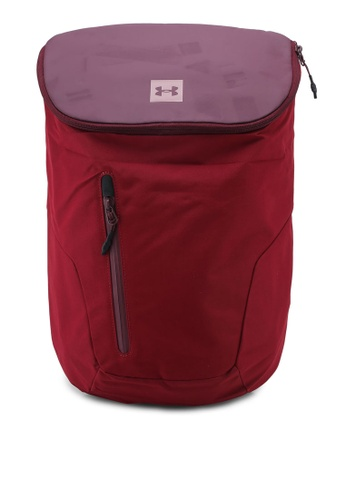 Under Armour red Sportstyle Backpack C487AAC4702421GS_1