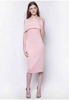 Carmina Off Shoulder Dress