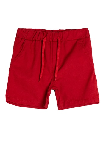 KOTON red Casual Shorts 89DF3KA644B0B5GS_1