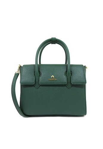 Carlo Rino green Carlo Rino 0304141A-002-16 Top-handle bag (Green) 77930AC81787AFGS_1