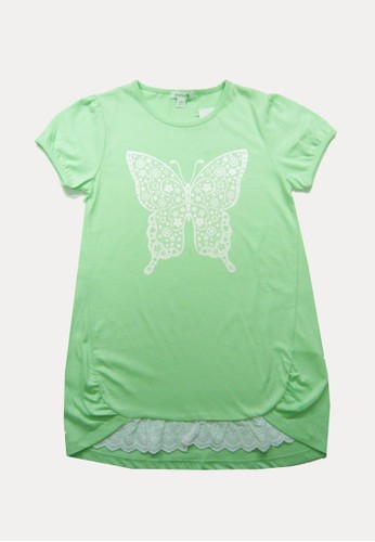 Bossini green Bossini Kids Girl T-Shirt Lt Mint (64001500074) 3BB49KAE908BCDGS_1