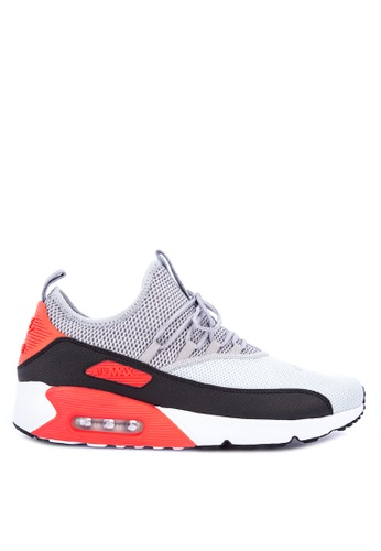 Nike grey and multi Men's Nike Air Max 90 EZ Shoes 8F625SH084F228GS_1
