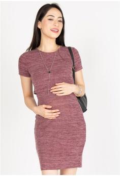 45fecabe26eab MOTHERCOT Ever Comfort Nursing Dress in Purple S$ 43.90. Sizes XS S L XL