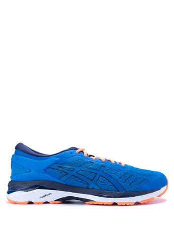 Asics blue Gel-Kayano 24 Running Shoes AS445SH0JRZKPH_1
