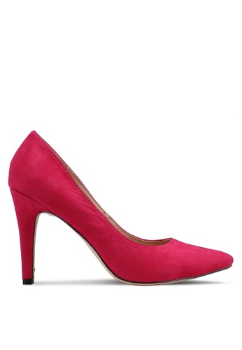 4e4236315b7 Nose pink Suede Pointed Heel Pumps 15C38SH7A4F7D0GS 1
