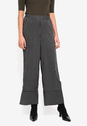 Vero Moda black Nanna Coco Trousers 49176AACFB58C7GS_1