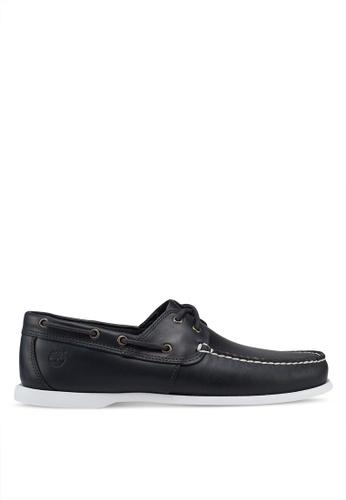 Timberland navy Cedar Bay Boat Shoes 397F3SH995F2F7GS_1