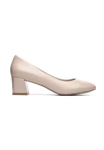 Byford pink Bremnet Round Toe Heels ECD93SHD535146GS_1