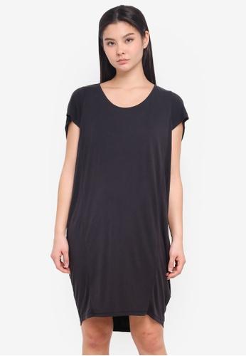 ICHI black Julo Dress E4728AAAD247B9GS_1