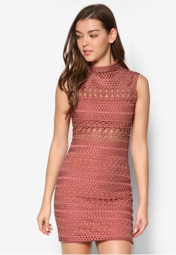 Cornelli 鉤針蕾絲迷你連身裙,esprit home 台灣 服飾, 洋裝