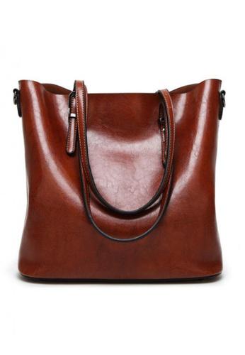 Lara brown Shopper Bag 2B137ACD0040EFGS_1