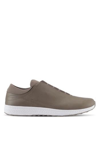 ZALORA beige Hidden Lace Sneakers 059FFSHA30F4ADGS_1