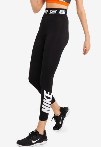 Nike black AS Women's Sportswear Club High-Rise Leggings 76821AAA4D581CGS_1