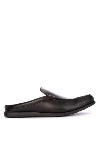 1a7c16b22f0f Shop Alberto Genuine Leather Half Slippers Online on ZALORA Philippines