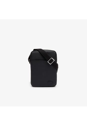 Lacoste black Lacoste Men's Classic Vertical Zip Bag EC8FBACB333755GS_1