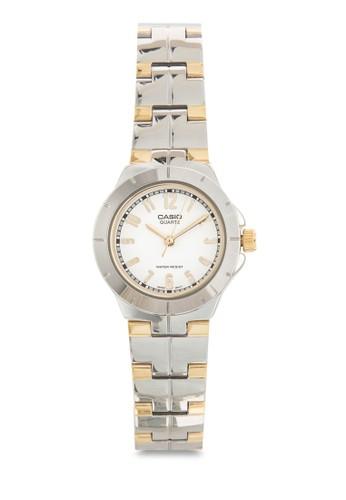 LTP-1238D-7ADFesprit台灣outlet 雙色不銹鋼圓錶, 錶類, 飾品配件