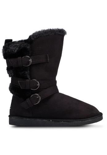 Carlton London 黑色 經典必備雪靴 4ACD3SH460EF6FGS_1