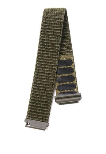 Milliot & Co. green Jasper Smart Watch Strap Set 3A329ACBA34562GS_1