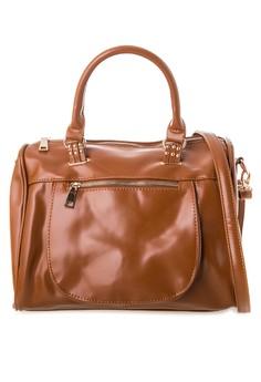 Luxe Bowler Bag