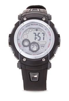 Unisex Rubber Strap Watch MXJ 8570103