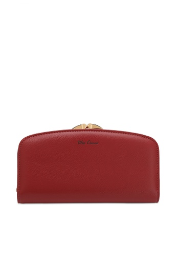 Wild Channel red Ladies Long Purse 04057ACE380E82GS_1