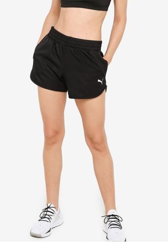 PUMA black Active Woven Shorts B0058AA38AA977GS_1