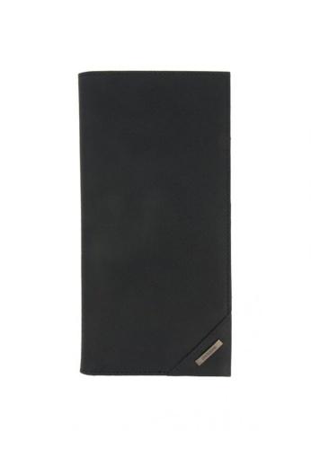 CROSSING black Crossing Riforma Bi-fold Long Wallet RFID - Indian Ink 6B619AC65FA059GS_1