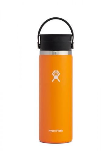 Hydro Flask orange 20 Oz Clementine Wide Mouth W/ Flex Sip Lid Accessories CBB71ACBA37265GS_1