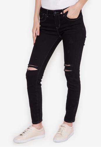 RRJ black Ladies Extreme Skinny (Low Rise) Pants RR205AA0K3ZSPH_1
