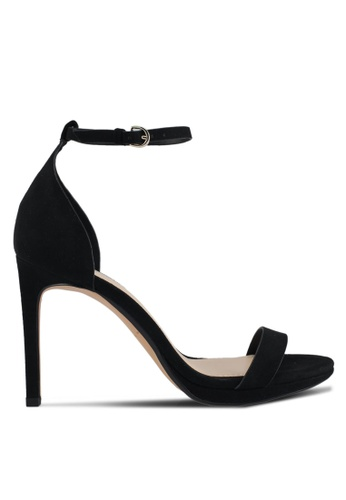 Mango black Ankle-Cuff Heels 273F8SH96E2E63GS_1