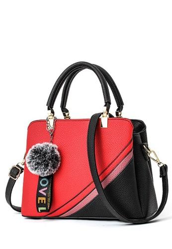 TCWK red TCWK Korea Style Red Ladies Handbag TC258AC0SKYFMY_1