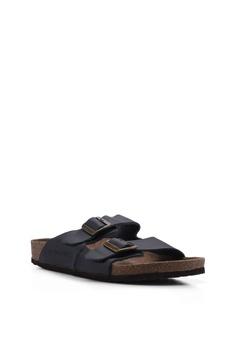 a5ea4a03d55 Jack   Jones Croxton Black Leather Sandals Php 3