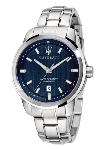 Maserati silver Successo Quartz Watch R8853121004 Silver Stainless Steel Strap 36560AC8EA40B1GS_1