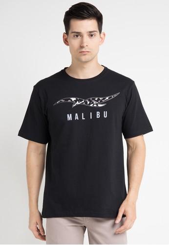 Malibu black T-Shirt MA962AA0WE5ZID_1
