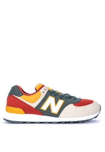 New Balance multi 574 Classics Lifestyle Shoes 96361SH184FD29GS_1