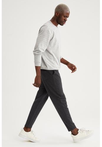 DeFacto black Carrot Trousers 50B7CAAA9E92A7GS_1